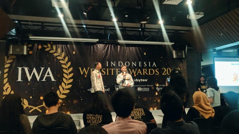 Grapiku Raih Penghargaan Indonesia Website Awards 2018