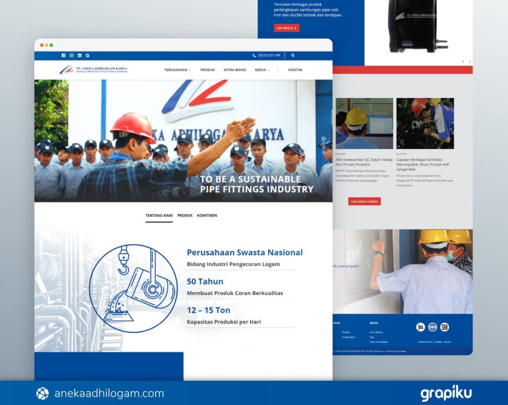 jasa pembuatan website perusahaan berkualitas