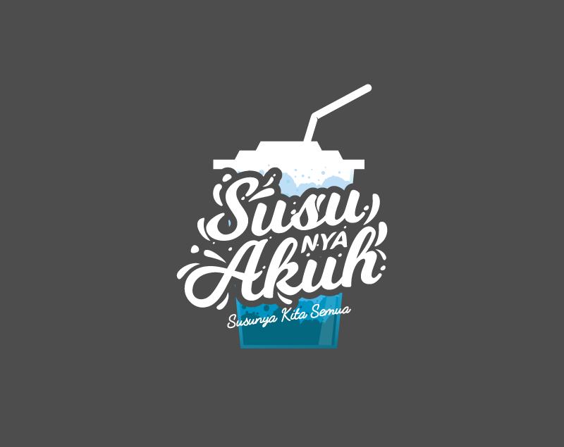 logo susunya akuh brand susu segar karya grapiku logo susunya akuh brand susu segar