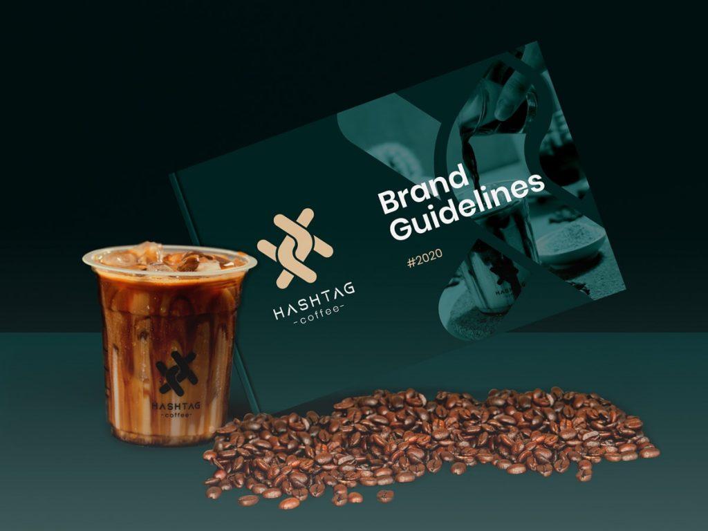 contoh brand guideline usaha kopi