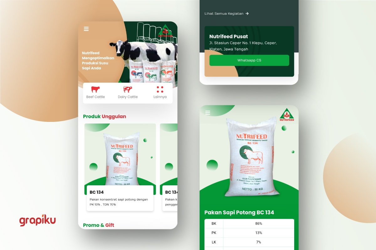 Website Nutrifeed