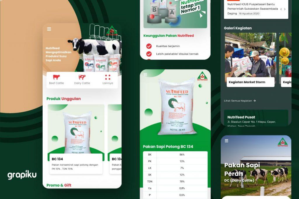 Website Nutrifeed - KJUB Puspetasari